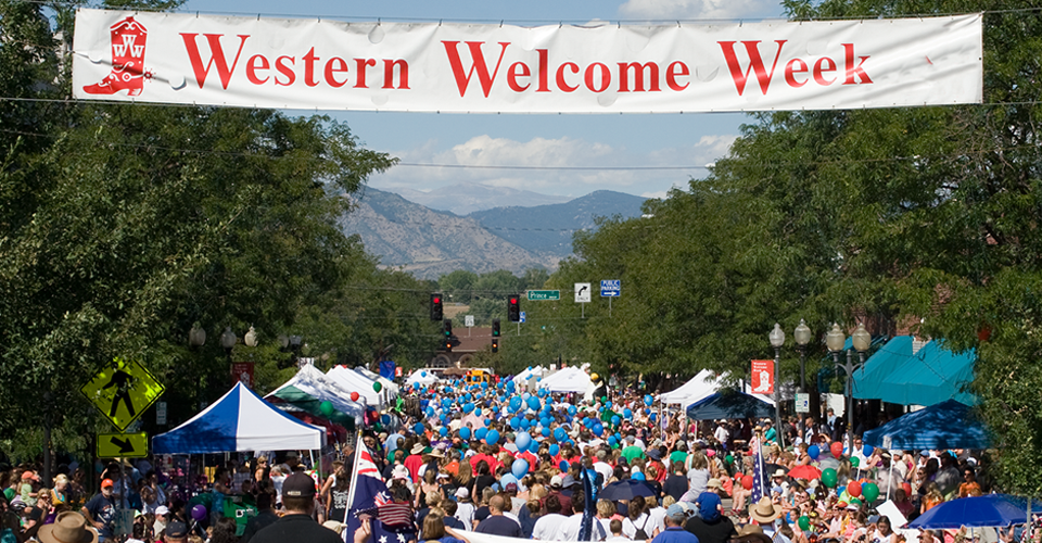 Western Welcome Week - Photo courtesy of Cathy Weaver