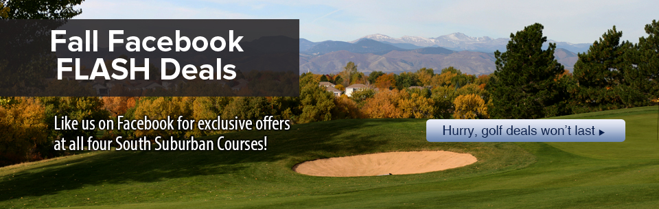 Golf Flash Deals on Facebook