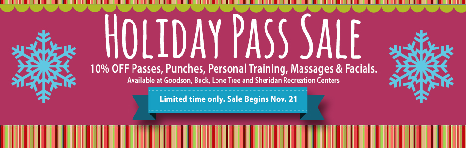 Holiday Pass Sale 2014