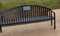 Mary Carter Greenway Bench Thumbnail