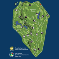 South Suburban Golf Course Map Thumbnail 171024