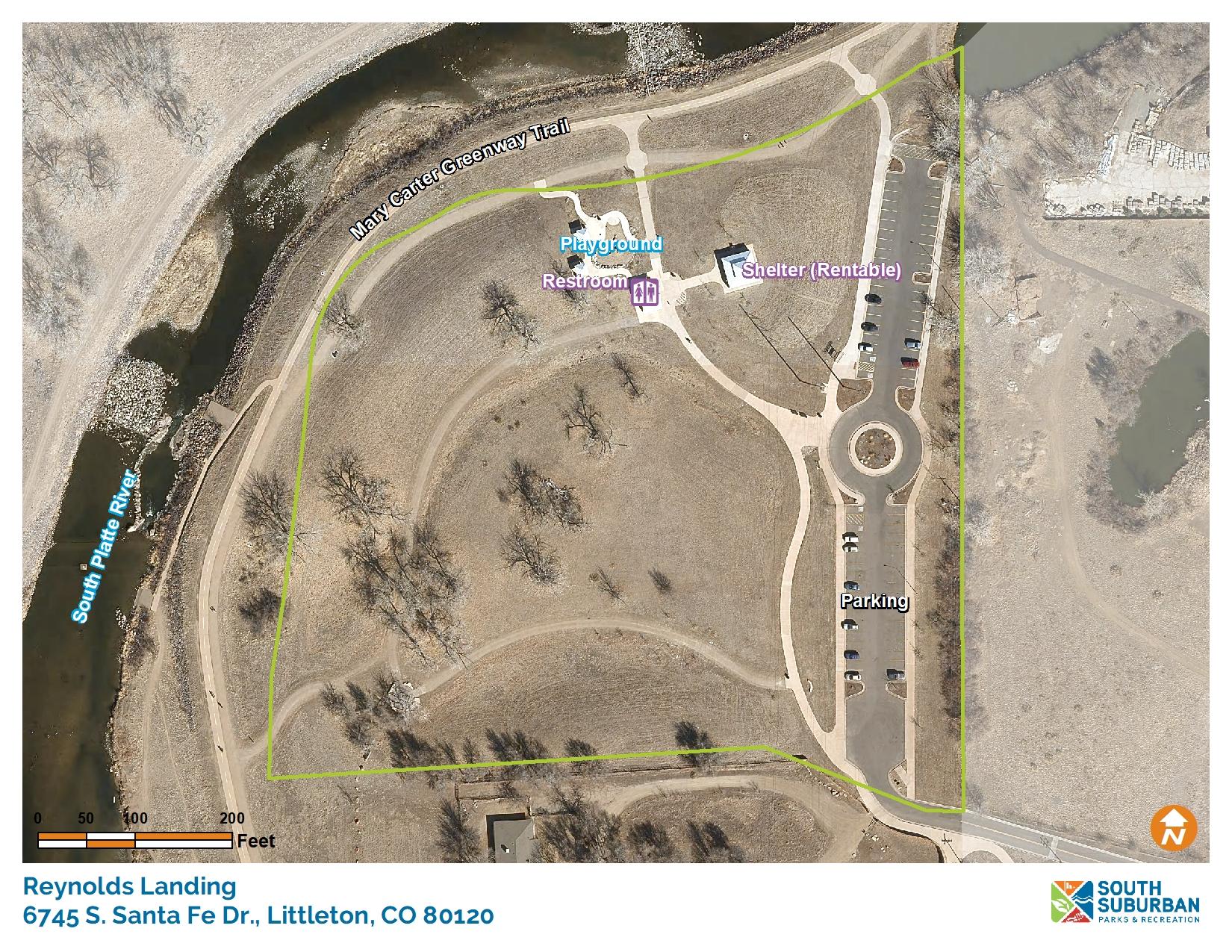 Platte River Location Reynolds Landing - Sou...